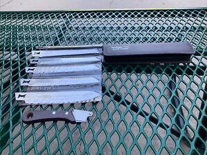 Kershaw KAI Cutlery 6 Blade Trader Steel Knife Kit W Case Made In Japan New, VTG