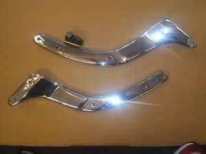 Yamaha XVS 650 Drag Star Custom Side Fender Struts / Trims & Helmet Lock: OU2288