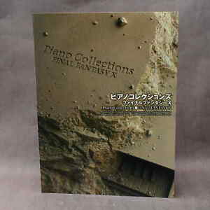 Final Fantasy 10 X Piano Collections Score - GAME MUSIC NEW