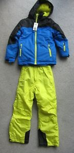 Boy's Crane Ski Jacket and Salopettes Age 7-8 Years Brand New with Tags