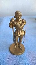 Mokarex Jeu d'échecs figurine dorée Charles le Téméraire Vougier Années 60