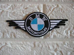 Aufnäher BMW Aufbügler Patch Motorcycles Motorradsport Autosport Tuning Biker GT