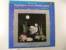LP TCHAIKOVSKY highlieghts from swan lake Ansermet