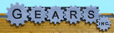 N SCALE  ** Laser Cut **  Gears Inc Building Sign Kit - #4124