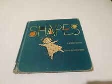 Shapes by Miriam Schlein pictures Sam Berman vintage 1952  E.M. Hale & Co.
