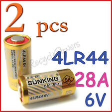 2 Alkaline Battery 28A 6V 4LR44 4NZ13 4G13 V34PX 544