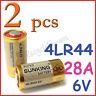 2 Alkaline Battery 28A 6V 4LR44 4NZ13 4G13 V34PX 544