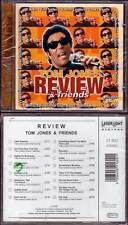 "TOM JONES & FRIENDS ""Review"" (CD) Anka,Shields,Warwick,Hayes,Turner 2000 NEUF"