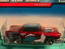 "HOT WHEELS ""55 CHEVY SURF N FUN SERIES #3 OF 4 FRE SHIP"