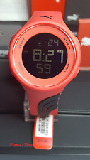 PUMA UNIXES WATCH PU911091008  DIGITAL RED RUBBER BLACK DIAL ALARM WATER RESIST
