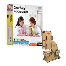 Microscope for 8+ Years Boys&Girls,Stem Learning & Educational DIY Activity Kit
