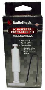 IC Inserter and Extractor Tool Set Kit 6 to 40-Pin  2761581 RadioShack