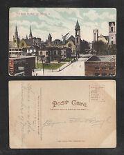 1910s THE SEVEN TOWERS DES MOINES IOWA POSTCARD