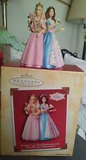 Princess and the Pauper Barbie Hallmark Christmas Ornament 2004 Erika Anneliese