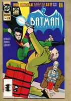 Batman Adventures #14-1993 vf/nm 9.0 based on animated series 2nd Variant cover