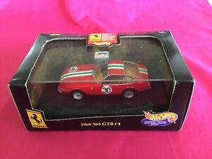 Hot Wheels Ferrari 365 GTB/4 1968 #30 1:43 22184, Boxed
