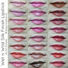 Wet n Wild Silk Finish Lipstick .13 oz BRAND NEW SEALED You Pick Color