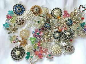 40 pieces Swarovski Pendants Assorted Styles &Colors- Xtra Fancy