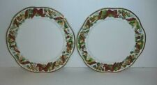 WATERFORD HOLIDAY HEIRLOOM GARLANDS X'MAS PLATE SET