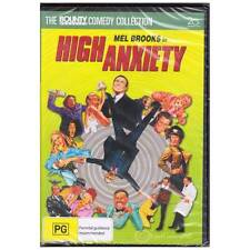 DVD HIGH ANXIETY MEL BROOKS KAHN LEACHMAN COMEDY PARODY HITCHCOCK FILMS R4 [BNS]