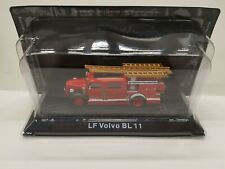 LF Volvo BL 11 Fire Engines deagostini TOY model Car present gift 1/72 scale new