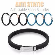 1x Anti Static Titanium Ionic Magnetic Bracelet Band Adjustable 4000ion/cm3 Us