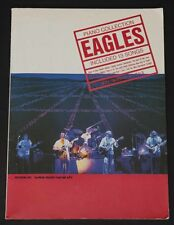 05208 Eagles Piano Collection Included 13 Songs Take It Easy Hotel California