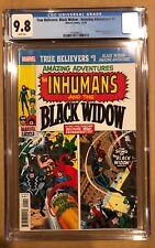 TRUE BELIEVERS: BLACK WIDOW - AMAZING ADVENTURES # 1 CGC 9.8.
