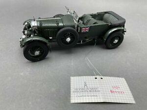 1:24 FRANKLIN MINT 1929 Bentley / N 922