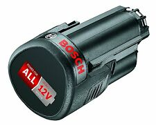 Battery Rechargeable from 12 V for lithium with 2,5 Ah Capacity Bosch Power 4all