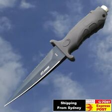 Pig Sticker Tactical Razor Sharp Bowie Hunting Knife Camping Military W/ Sheath