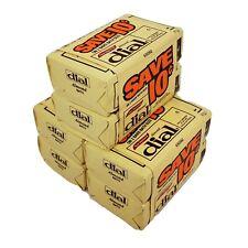 Vintage Dial Almond Bath Bar Deodorant Soap 5 oz Bars NOS Lot of 6 Movie TV Prop