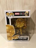 Marvel Studios The First Ten Years Gold Chrome Star Lord Funko Pop Vinyl
