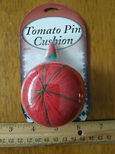 Tomato Pin Cushion with strawberry