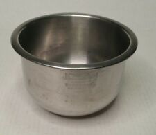 Vintage West Bend Bowl Master Chrome Stainless Steel Mixing Bowl 1-1/2 Quart USA