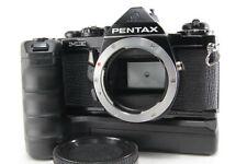 Pentax ME 35mm SLR MF Film Camera w/ Winder me II