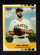 WILL CRAIG 2021 ARCHIVES SNAPSHOTS ROOKIE PITTSBURGH PIRATES