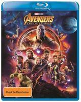Avengers - Infinity War (Blu-ray, 2018) Region B