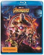 Avengers - Infinity War Blu Ray Region B New & Sealed 2018