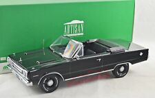 NEUF 1/18 Greenlight 19007 Plymouth Belvedere GTX, 1967, noir
