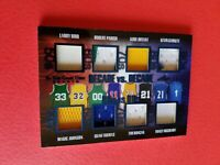 KOBE BRYANT LARRY BIRD MAGIC JOHNSON KEVIN GARNETT MCGRADY JERSEY CARD #d35 ITG