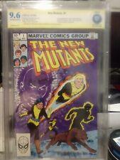 New Mutants 1 CBCS SS 9.6 Bob McLeod Signed X Men 1983 not cgc Hot Movie!