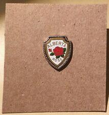 Canada Alberta Rose Pin - Enameled