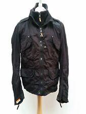 C120 Homme Superdry Double black label noir Léger Cargo Jacket XL 44