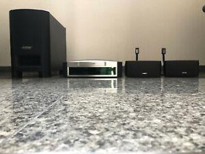BOSE Media Center Model AV3-2-1 DVD CD - Subwoofer - 2 x Lautsprecher-2 x Stativ