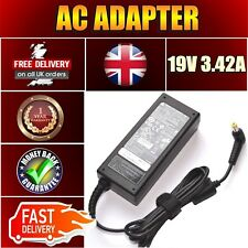 NEW ACER EXTENSA 5220 4220 5620 19V 3.42A PSU ADAPTER POWER CHARGER UK LEAD