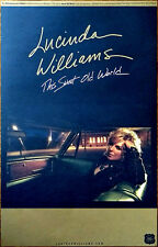 LUCINDA WILLIAMS This Sweet Old World: 20th Anniversary Ltd Ed RARE Tour Poster!