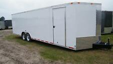 8.5x28 8.5 x 28 Enclosed Trailer Cargo Car Hauler 5200 30 32 Motorcycle Utility