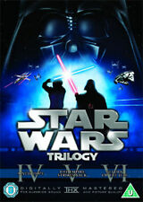 Star Wars - The Original Trilogy (DVD, 2008, 6-Disc Set, Box Set) Region 2 UK