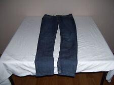 Stone Love Blue Jeans Womens Size 0 Dark jeans Inseam 30 Low Rise 1% Spandex